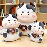 N / A Plüschtier ausgestopfte Puppe Cartoon Tier Vieh Kuh Stier Ochse Umarmung Donut Kind...