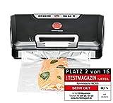 ROMMELSBACHER Vakuumierer VAC 485 - Absaugleistung 15 Liter/Min., Einhand-Bedienung, fr...
