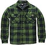 Dickies Holzfällerhemd Thermohemd Portland (grün/schwarz, 2XL)