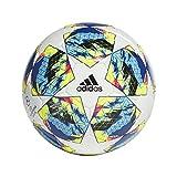 adidas Jungen Finale COMP Turnierbälle für Fußball, top:White/Bright Cyan/solar Yellow/Shock pink...