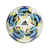 adidas Jungen Finale COMP Turnierblle fr Fuball, top:White/Bright Cyan/solar Yellow/Shock pink...