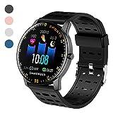 Polywell Fitness-Tracker, Smartwatch Aktivittstracker mit Herzfrequenz-Monitor und...