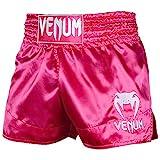 Venum Classic Thaibox Shorts, Rosa/Weiß, S