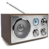 Blaupunkt RXN 180, Küchenradio Retro mit Bluetooth, einfaches Radio mit UKW/FM und Aux In,...