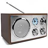 Blaupunkt RXN 180, Kchenradio Retro mit Bluetooth, einfaches Radio mit UKW/FM und Aux In, Retroradio...