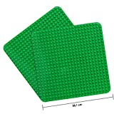 LVHERO 2 Kompatibel mit Große Bauplatte Lego Duplo, Kreatives Vorschulspielzeug, Grün