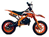 RV-Racing Pocketbike Dirtbike Pocket Cross Bike Kindermotorrad Crossbike Orange