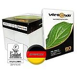 2500 Blatt Marken Kopierpapier Versando high white 80 DIN A4 80g/qm weiss Druckerpapier Papier Fax...