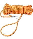 Joytale Reflektierend Schleppleine für Hunde, 15m Kein Verheddern Ausbildungsleine mit Handschlaufe...