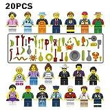 Stadtarbeiter Set 20 PCS Heroes From City Geschenk für Jungen und Mädchen