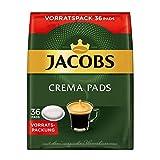 Jacobs Kaffeepads Crema Classic, 180 Senseo kompatible Pads im Vorteilspack, 5er Pack, 5 x 36...
