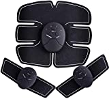 XYFW USB wiederaufladbare Bauchmuskeltrainer Bauchtoner Bauchmuskelgürtel EMS Body Fitness Trainer...