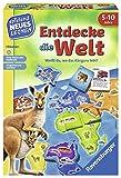 Ravensburger 24990 - Entdecke die Welt - Spielen und Lernen für Kinder, Lernspiel für Kinder von...