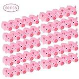 Pywee 50 Stck Badespielzeug, kleine Glcksschweinchen,Baby Bad Spielzeug Squeeze Angst Stressabbau...