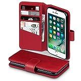 TERRAPIN, Kompatibel mit iPhone 8 / iPhone 7 Hlle, [ECHT Leder] Brieftasche Case Tasche mit...
