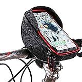Fahrradtasche Hochwertige Fahrrad wasserdichte Touchscreen Handytasche Mountainbike Front Beam...