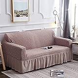 SHAFAJNC Sofabezug Sofaüberwürfe 1/2/3/4 Seater,Stretch Sofa Überwürfe Elastische Sofaschoner...