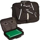 Cawila Trainertasche Trainer Briefcase inklusive Zubehr fr Fuball, Schwarz, 31 x 43 x 4 cm,