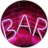 Rosa Neon Brief Leuchtreklamen Nachtlicht LED Festzelt Buchstaben Neon Kunst Dekorative Lichter...