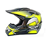 Motocross Quad Sturzhelm DOT YM-915 Full Face Off Road Downhill Dirt Bike MX ATV Motorradhelm für...