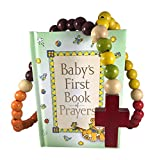 Baby Katholische Taufgeschenk Set inkl. erster Rosenkranz und erstes Gebetsbuch für Babys, perfekte...