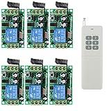 12V 6 Kanäle 500M Reichweite RF Funkschalter Funkfernbedienung Lichtschalter Empfänger Sender...