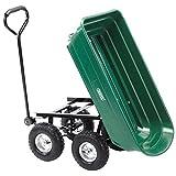 DRAPER Kippmulde-Gartenwagen mit Kippfunktion, grn