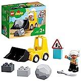 LEGO 10930 DUPLO Radlader Baufahrzeug Spielzeugset für Kleinkinder ab 2 Jahren