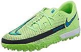 Nike Unisex Phantom GT Academy TF Fussballschuh, Glow Aquamarine Off Noir, 46 EU