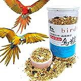 Tonsee Papageienfutter Vogelfutter für über 12 Monate Papageien Enthält Unterschiedliche...
