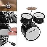 Fesjoy Kindertrommel-Kit Kids Kinder Junior Anfänger 3-teiliges Schlagzeug Drums Kit Percussion...