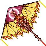 Mint's Colorful Life Drachen Drache für Kinder Erwachsene, einleiner flugdrachen Bester Groß Beach...