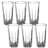 KADAX Trinkgläser aus hochwertigem Glas, 6er Set, Wassergläser, dickwandige Saftgläser,...