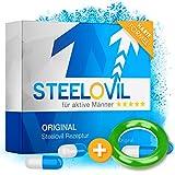 *NEU* Steelovil I Natürliches Potenzmittel mit neutraler Lieferverpackung I Plus gratis Ring I Neue...