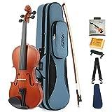 Eastar Akustische Violine Set 4/4 Geige Volle Größe für Anfänger mit Koffer, Schulterstütze,...