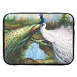 15 Zoll Laptop Hülle Hülle Peacock Neopren Cover Bag Kompatibles Notebook