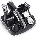 XUERUIGANG 6-in-1-Bartschneider für Männerschnur, USB-Wiederaufladbare, professionelles...