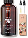 ARGANÖL BIO | 100% Rein, Natürlich & Kaltgepresst | Gesicht, Körper, Haar, Bart, Nägel | Vegan &...