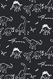 Blanko Notizbuch - ZMUDACE: in DIN A5 Softcover | Süße Zeichnung Dino Dinosaurier T-Rex |...