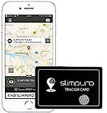 Tracker Karte mit Bluetooth - Geldbörse Finder, Sucher - Handy Finder - GPS Ortung/Kopplung -...
