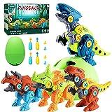 Alyoen Dinosaurier Spielzeug für Kinder,Montage Toys mit Elektrische Bohrmaschine,Dinosaurier...