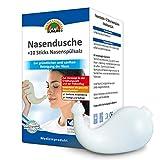 SUNLIFE Nasendusche mit 10 Sticks Nasensplsalz Salz Druck Erwachsene Set