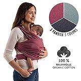Laleni Premium Tragetuch Baby Tragetuch Neugeborene - Babytragetuch 100% weiche Bio-Baumwolle,...