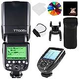 GODOX TT685O TTL 2.4G Wireless Blitz GN60 1/8000 HSS Blitzgerät Aufsteckblitz Speedlite mit XPRO-O...