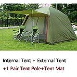 LTYGZ Große Campingzelte für Familiencamping 4-10 Personen Strandpartyzelt wasserdicht...