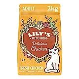 Lily's Kitchen Trockenfutter mit Hühnerfleisch und Kräutern für ausgewachsene Katzen,...