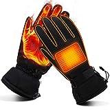 Mermaid Elektrische Beheizbare Handwärmer Handschuhe für Herren Damen Winterhandschuhe mit...