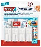 tesa Powerstrips Vario-Gardinenhaken / Selbstklebende Gardinenhaken von tesa - wieder ablösbar und...