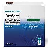 Bausch und Lomb - EasySept Peroxidlösung Kontaktlinsenreiniger für weiche Kontaktlinsen, mit...