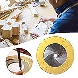 Gravere Flexibles Kreisschablonen Aluminiumlegierung Schablone Zeichenschablone Lineal Geometrische...